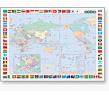 かべはり世界地図